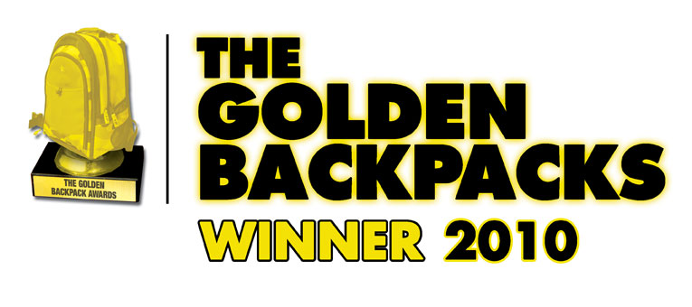 Travellers Auto Barn wins the Golden Backpack Awards - AGAIN!!!