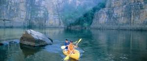Canoeing, Katherine Gorge - Nitmiluk National Park
