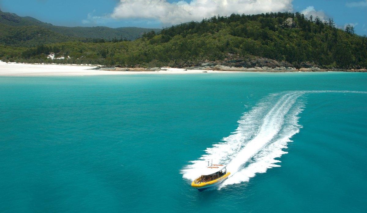 Airlie Beach To Fraser Island Distance