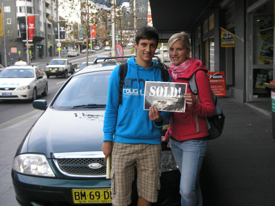 How to successfully sell your backpacker car