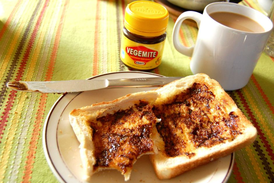 Vegemite toast via ABC.net