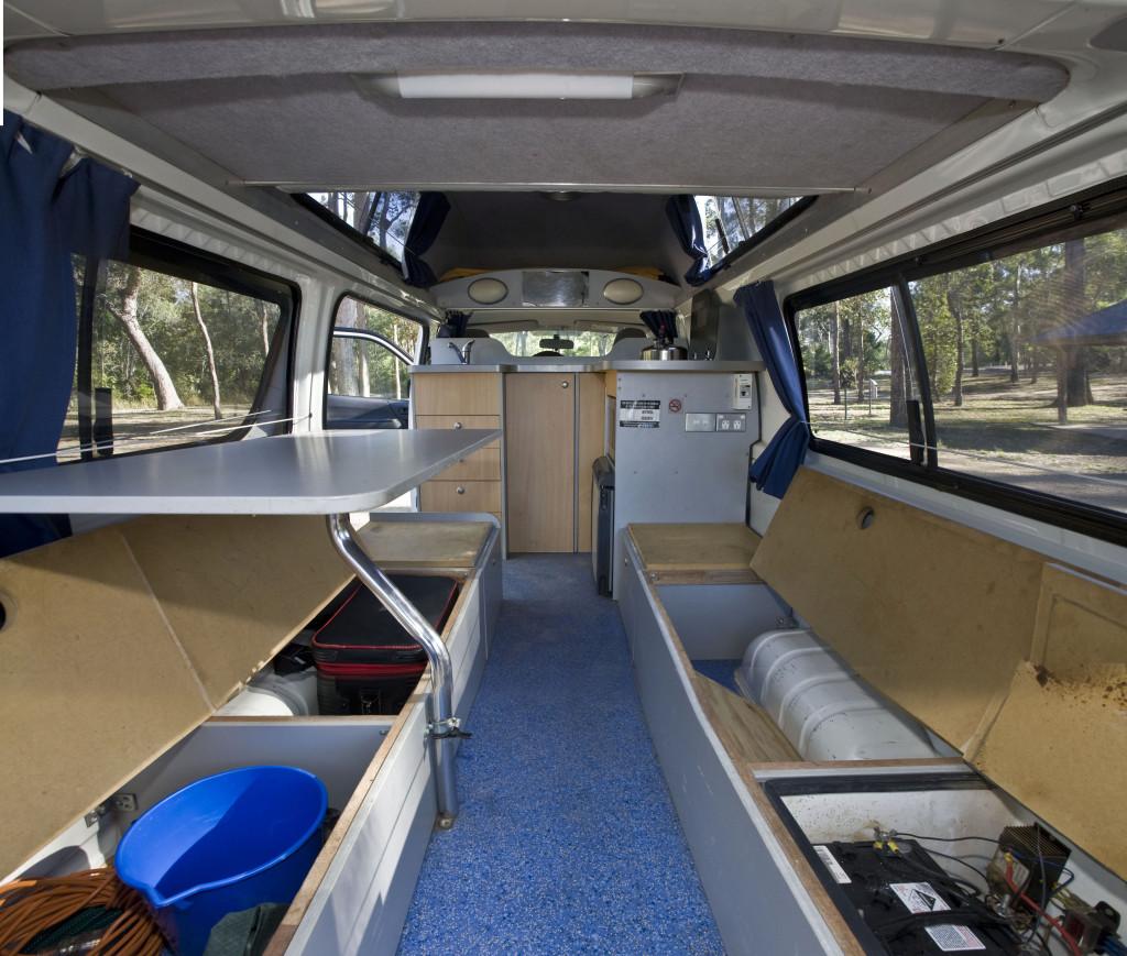 Kuga - Hitop Campervan - Storage space