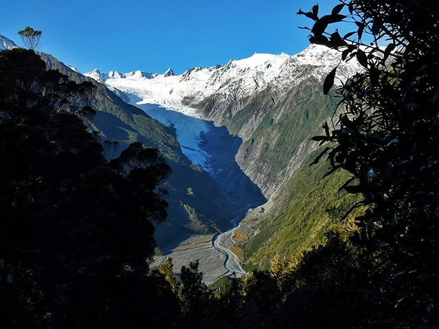 Franz Josef Glacier. Road Trip South Island New Zealand in Campervan