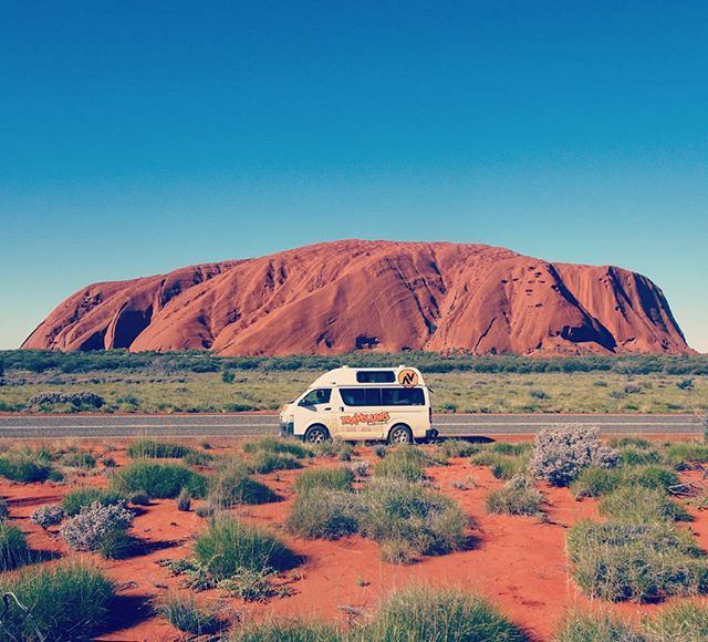 On the Road with Tasia - Road Trip to Uluru