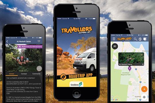 Travellers Autobarn Road Trip App