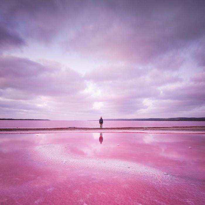 Image: Hutt Lagoon – Instagram: @driftingpixels@paulmichael