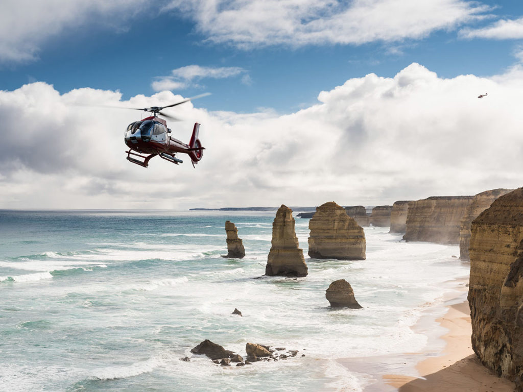 12 apostles great ocean road helicopter