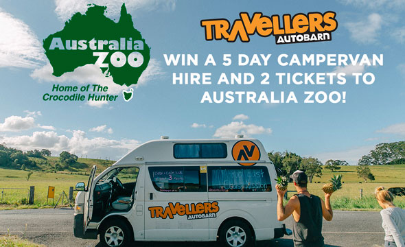 WIN a 5-Day Road Trip and 2 Tickets to Australia Zoo!