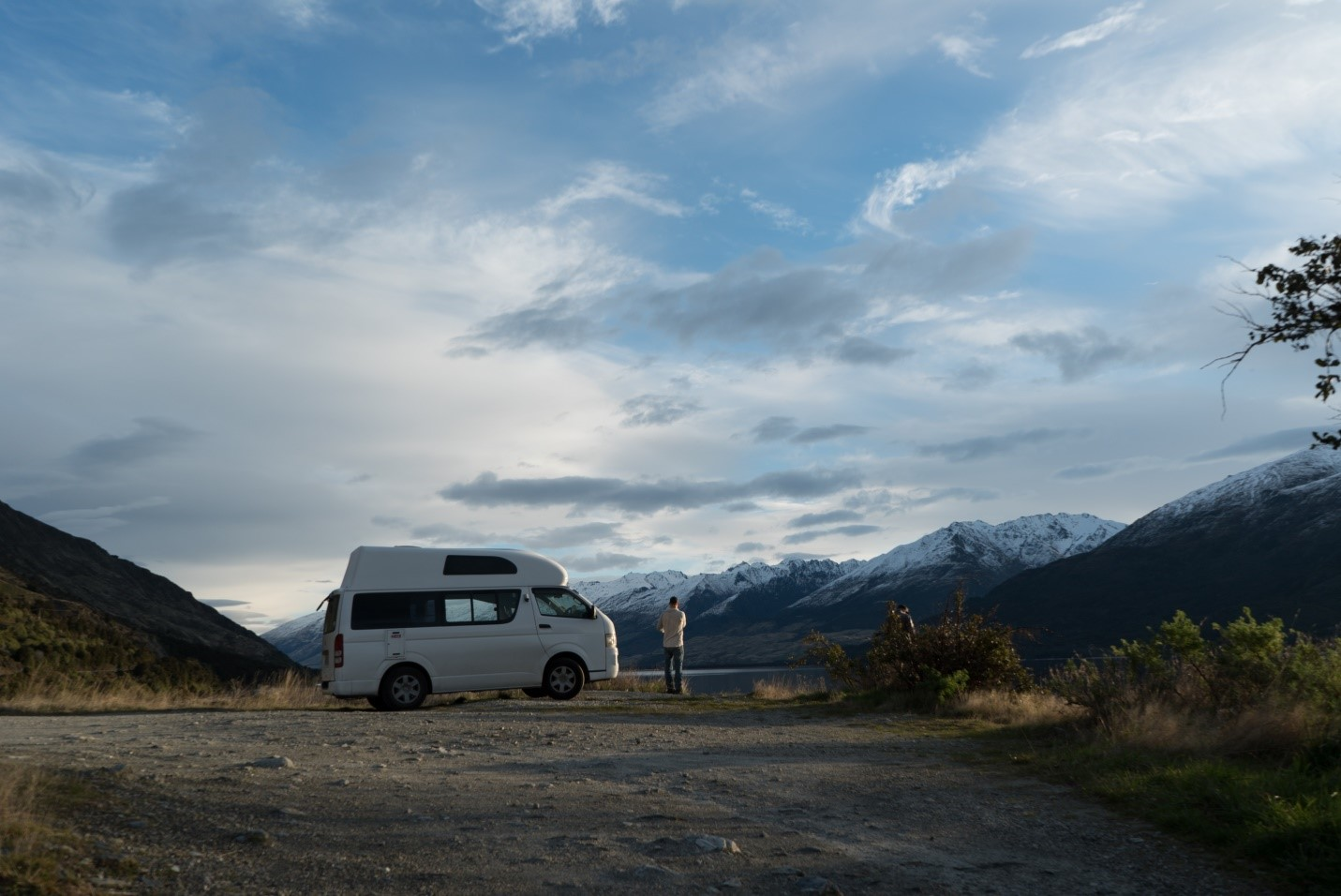 travel the world in a van