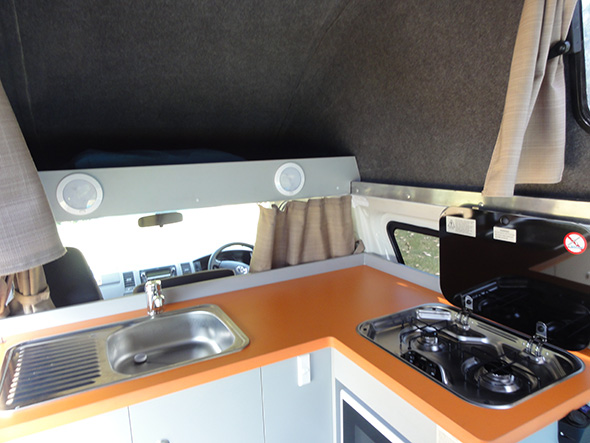Campervan Kitchen Hacks
