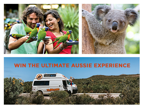 WIN a Campervan Road Trip and Tickets to Currumbin Wildlife Sanctuary!