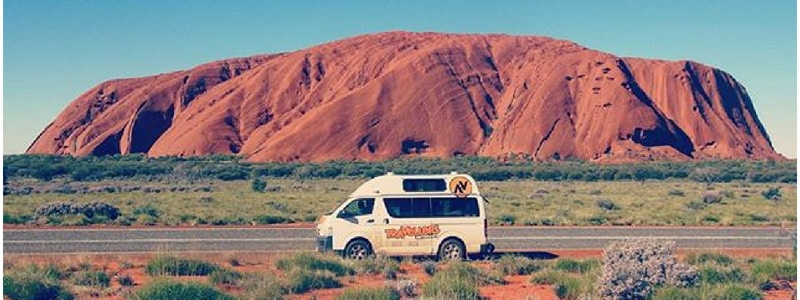 Uluru Road Trip with Travellers Autobarn