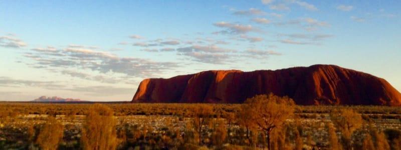 Uluru with Travellers Autobarn