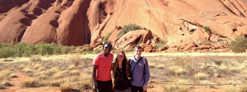 Ayers Rock with Travellers Autobarn