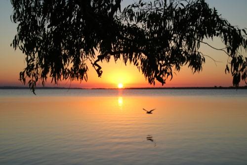 Bairnsdale Road Trip, View of Lake
