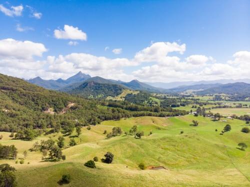 Murwillumbah NSW green fields
