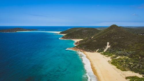Tomaree Head Lookout in Port Stephens